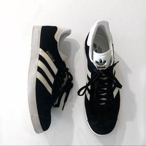Adidas Black Women's Gazelles